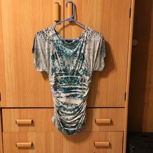 IZ Byer ruched blouse